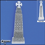 Pewter Carew Cross Kilt Pin (#JPEW6028)