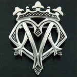 Pewter Luckenbooth Pin/Pendant (#JPEW6076)