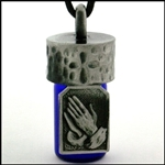 Praying Hands Anointing/Aromatherapy/Memorial Bottle(Pew730)