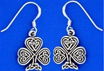 Celtic Shamrock Earrings (RPEW6)
