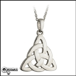 Stainless Steel Trinity Love Knot Pendant (#S28)